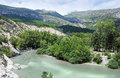 Gorges du verdon view into canyon haute provence france Royalty Free Stock Photography