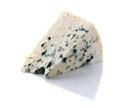 Gorgonzola cheese on white Royalty Free Stock Photo