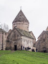 Goshavank monastery in gosh village in armenia on april complex was built in th century has remained in good condition Royalty Free Stock Photo