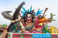 Goshogawara tachi neputa standing float festival aomori japan august this is version held every year in Royalty Free Stock Image