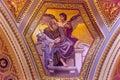 Gospel Writer Mosaic Saint Stephens Cathedral Budapest Hungary Royalty Free Stock Photo