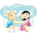 Gossips Royalty Free Stock Image