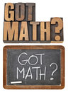 Got math question Royalty Free Stock Photography