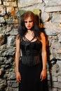 Goth Girl Royalty Free Stock Photos