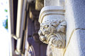Gothic architectural detail beautiful handmade old heritage in france europe Royalty Free Stock Image