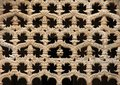 Gothic architecture pattern detail Royalty Free Stock Photo