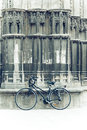 Gothic Bicycle Stock Photo