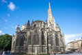 Gothic bordeaux cathedral france may cathedrale saint andre de is a roman catholic seat of the archbishop of Stock Photography