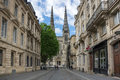 Gothic bordeaux cathedral france may cathedrale saint andre de is a roman catholic seat of the archbishop of Stock Image