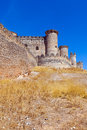 Gothic castle in belmonte cuenca spain Royalty Free Stock Photography