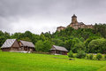 Gothic castle stara lubovna in slovakia Royalty Free Stock Photography