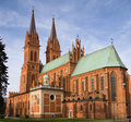 Gothic cathedral Stock Photo