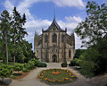 Gothic cathedral, Kutna Hora Royalty Free Stock Photo