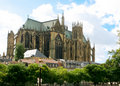 Gothic Cathedral, Metz Royalty Free Stock Photo