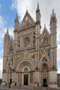 Gothic Cathedral of Orvieto Royalty Free Stock Photo