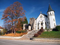 Gothic chruch in Mosovce, Slovakia
