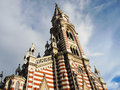 Gothic church in Bogota, Colombia. Royalty Free Stock Photo