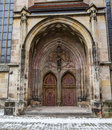 Gothic Church, Dinkelsbuhl. Germany Stock Photo