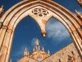 Gothic church Royalty Free Stock Photo