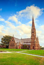 Gothic church in new england the of the good shepherd episcopal Stock Photography