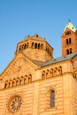 Gothic church a in speyer in germany Stock Photos