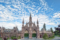 Gothic Entrance at Greenwood Cemetery Royalty Free Stock Photo