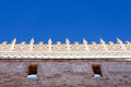Gothic facade detail of church san gregorio valladolid spain Stock Photo