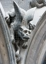 Gothic gargoyle Royalty Free Stock Photo