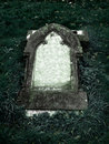 Gothic Grave stone with clear space for text Royalty Free Stock Photo