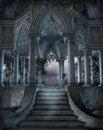 Gothic graveyard 6