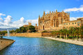 Gothic medieval cathedral of Palma de Mallorca, Spain Royalty Free Stock Photo
