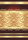 Gothic ornament. Wrapping Royalty Free Stock Images