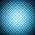 Gothic pale blue wallpaper Royalty Free Stock Image