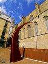 The gothic quarter in barcelona barri gotic catalonia spain Stock Photo