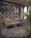 Gothic scenery 100 Royalty Free Stock Photo