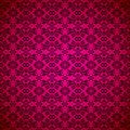 Gothic seamless pink wallpaper Stock Photography