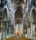 Gothic style cathedral Royalty Free Stock Photo