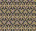 Gothic style ornament pattern Royalty Free Stock Photo