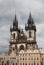 Gothic Tyn Church Royalty Free Stock Image