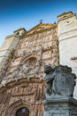Gothic Valladolid Spain Royalty Free Stock Photo