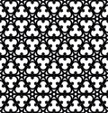 Gothic vector seamless background in style Stock Photography