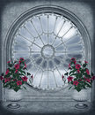 Gothic window 2 Royalty Free Stock Image