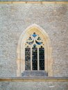 Gothic window saint barbara s church in kutna hora czech republic is one of the most famous churches in central europe and it is a Royalty Free Stock Images