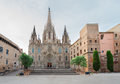 Gotic quarter of Barcelona Royalty Free Stock Photo
