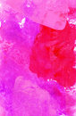 Gouache colorful abstract handmade painting painterly backdrop for design for print and web Royalty Free Stock Photos