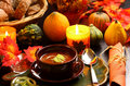 Goulash soup for Thanksgiving Stock Images
