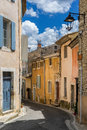 Goult in the luberon hill top village of provence Royalty Free Stock Photography