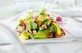 Gourmet Appetizing Fresh Green Salad Royalty Free Stock Photo