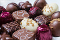 Gourmet Chocolates Royalty Free Stock Photo