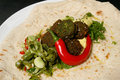 Gourmet falafel Royalty Free Stock Photos